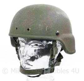 KCT en Nederlandse leger Armorsource LLC helmet NIJ 3a met camouflage - maat M/L - origineel