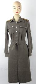DDR NVA dames uniform jurk - ook te gebruiken als WO2 - maat M76 = 38 - origineel