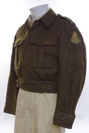 """MVO uniform jasje """"technische dienst"""" Palmboom divisie - R.I.M.I. - 1959 - maat 46 - origineel"""