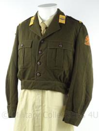KL Landmacht DT korte uniform jas 1954 - Prinses Irene Brigade - Korporaal - maat 51 - origineel