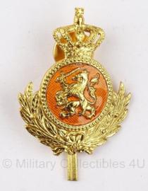 KL Nederlandse leger Onderofficier pet speld - goud - origineel