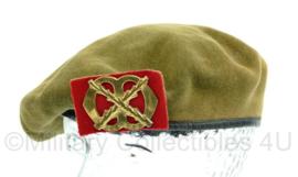 KL baret met insigne Chassee  1963 -  maat 58  - origineel