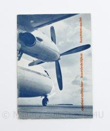 Onderofficier Koninklijke Luchtmacht informatiemap 1962 en formulieren om in te vullen - origineel