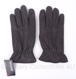 Thinsulate handschoenen gevoerd - zwart leer - NIEUW - maat Large - origineel