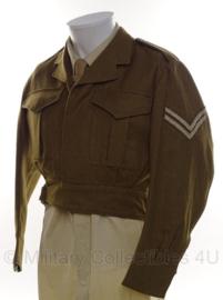 Australische leger Ike jack Corporal - size 37'38S - origineel