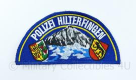 Polizei Hilterfingen embleem Zwitserland - 12 x 6 cm - origineel
