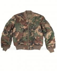 US flight jacket M1A - Woodland camo Pilot jacket