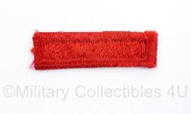 US Army naoorlogs stoffen embleem voor op de baret beret candy stripe - 5 x 1,5 cm - origineel
