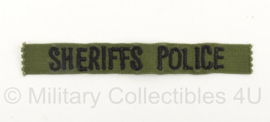 Sheriffs Police branche lint - origineel