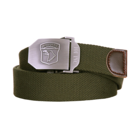 Airborne trouser belt GREEN