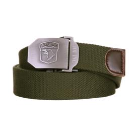 101st irborne trouser belt GREEN