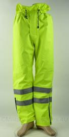 Britse Politie broek Yaffy Protective Clothing SOS High Visibility overtrousers - model 172 - meerdere maten - origineel