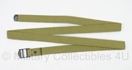 Canvas khaki utility strap 1,5 meter lang  - replica wo2 US