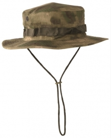 Boonie hat / Bush hat - Luxe model Ripstop - Mil-Tacs FG Forest Green Camo