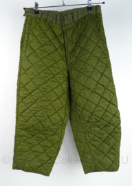 KL Landmacht ISO broek Isobroek - Thermo broek - groen - maat 78/80 - origineel