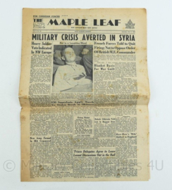 Krant Maple Leaf - 2 June 1945 -  origineel