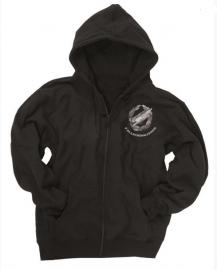 Jogging jas met capuchon zwart - Fallschirmjäger - meerdere maten