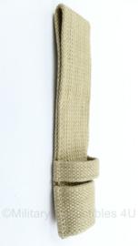Britse British Spike Bayonet frog spijkerbajonet draagstel canvas replica