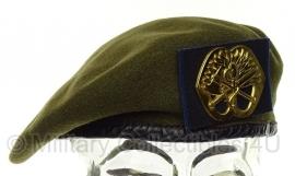 KL Nederlandse leger baret Korps Mobiele Colonnes 1986 - maat 57 - origineel