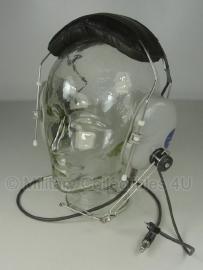 Military & Aircraft headset  JTHM-57 - grijs koptelefoon- origineel