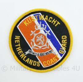 Kustwacht Netherlands Coast Guard servamus servientes met klittenband- 9 cm. diameter