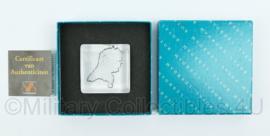 KLPD  Euro 2000 aandenken in origineel doosje - afmeting 12 x 12 x 2,5 cm - origineel