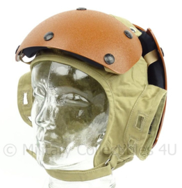 US Army Flight Deck Helmet Crewman's - Impact Resistant - gebruikt door Klu bij F16 testen - maat 7 1/4 - origineel