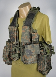 Tactical vest 12 pockets - Flecktarn