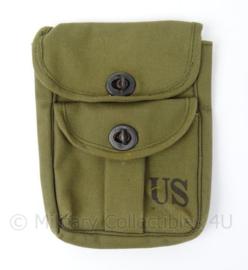 US Army universele opbergtas met speciale voering - afmeting 21 x 16 x 1,5 cm - origineel