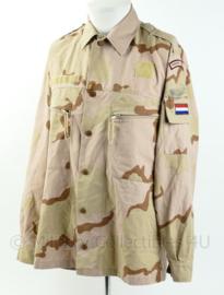 KL desert camo basis jas - Prinses Irene brigade - maat 6080/9095 - zeldzaam - origineel
