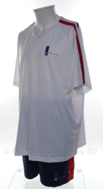 KL Nederlandse leger LO sport set shirt met korte broek - NIEUW - merk LI-NING - maat shirt XXL en broek XL - origineel