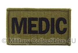 US Army OCP SSI patch - MEDIC - met klittenband - voor multicamo uniform - origineel