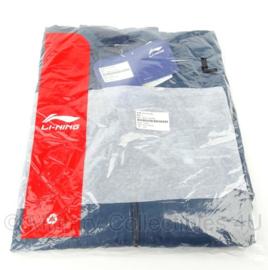 KL Nederlandse leger Defensie sport track jacket - nieuw in verpakking - merk Li-ning - maat XL - origineel