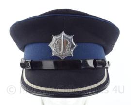 Nederlandse Gemeentepolitie Inspecteur platte pet- maat 56 - origineel