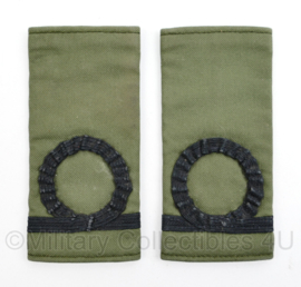 Korps Mariniers GVT epauletten rang Adjudant der Mariniers  - origineel