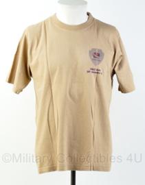 KL Nederlandse leger 43 BVE RHHB shirt 43 Brigade Verkennings Eskadron Tarin Kowt 2009 - gedragen - maat Medium - origineel