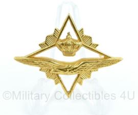 KLU Luchtmacht brevet - Hogere Militaire vorming  - origineel