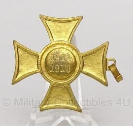 """Belgische """"1912-1913"""" gouden medaille - Origineel"""