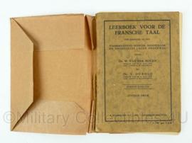 Lesboek Franse taal uit 1933 - origineel