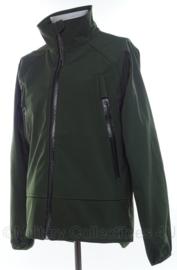 Korps Mariniers zeldzame soft shell jas -  Medium - origineel
