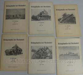 Wehrgedanken des Auslandes - set van 8 boekjes -origineel