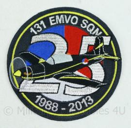 KLU Luchtmacht embleem - 131 EMVO squadron 1988-2013 - origineel