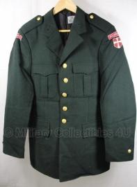 """Deens uitgaans uniform - met """"Danmark""""patch en vlag - borstomtrek 90-97 cm. - origineel"""