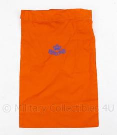 KL Nederlandse leger halsdoek Regiment Prinses Irene - oranje - origineel