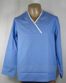 Operatie OK jas blauw chirurg - nieuw - origineel