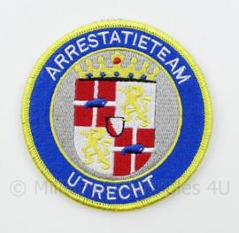 Arrestatieteam Utrecht embleem - met klittenband - 9 cm. diameter