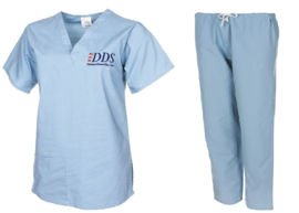 Leger tandartsassistente kleding set DDS Defence Dental Services - origineel