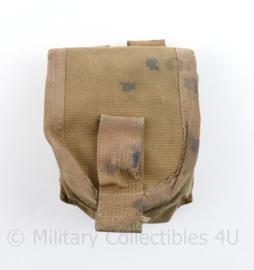 Defensie en Korps Mariniers Profile Equipment handgranaat tas coyote - gebruikt - 10 x 8,5 x 5,5 cm - origineel
