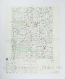 USA Defence mapping agency stafkaart Poland Gryfice M753 2325I - 1 : 50.000 - 74 x 58 cm - origineel