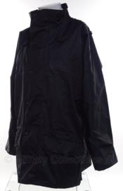 Britse Zwarte regen- en wind bestendige jas Black Lightweight Jacket merk NATURE PLUS  - meerdere maten - origineel